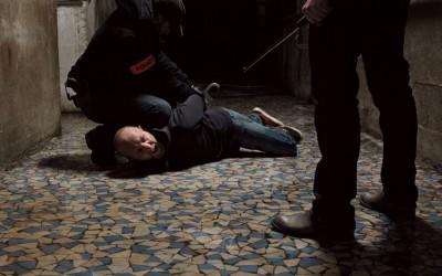 Arrestation, 2010, 100x130cm