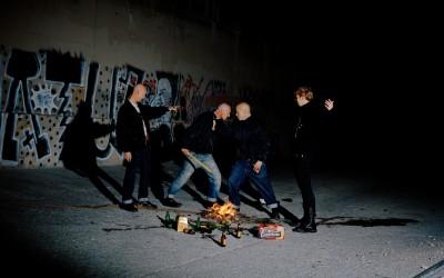 Bierre et feu, 2012, 100x130cm