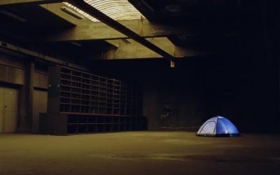 La tente #1, 67x80cm