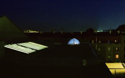 La tente #3, 67x80cm